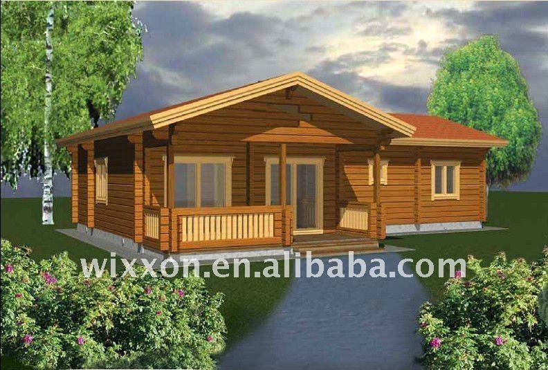 Casa de madeira simples casas pr fabricadas id do produto Wooden home plans