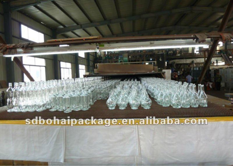 750 ml high grade glass wine bottle