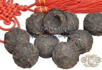 Черный чай Top Grade ripe tea 50pcs Mini Pu-erh Tea Cake yunnan Chinese tea mint flavor