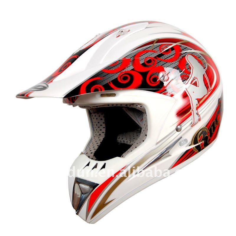 HD Dirtbike Motorcycle Helmet, DOT/ECE approved, HD-802