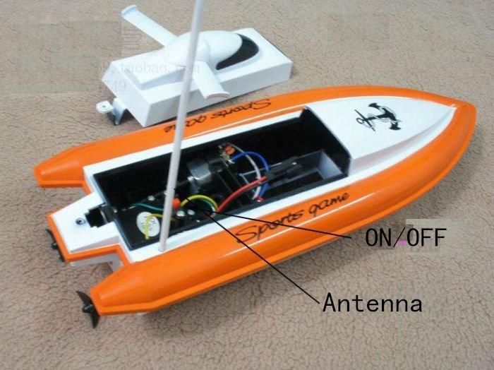 лодка на радиоуправлении своими руками