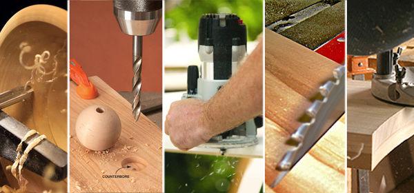 Custom Made Wood Cutting Tools
