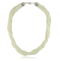Колье-ошейник New Jewelry Twist Pearl Necklaces Fashion Pearl Jewelry