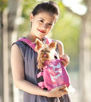 pet traveler soft animal front carrier bag