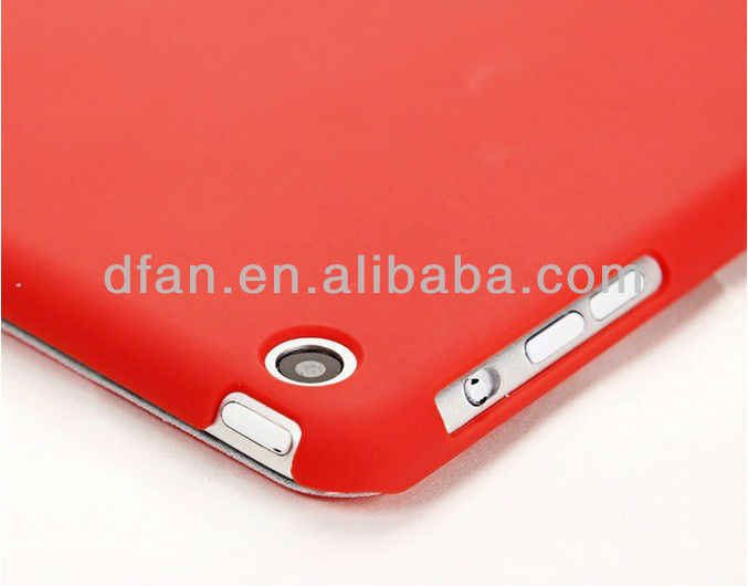 for mini ipad smart cover with back case