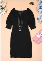 Женское платье Fashion Lady New 2013 Women's Fashion Tailer-made Dresses Party Mini Club Dress Fashion New