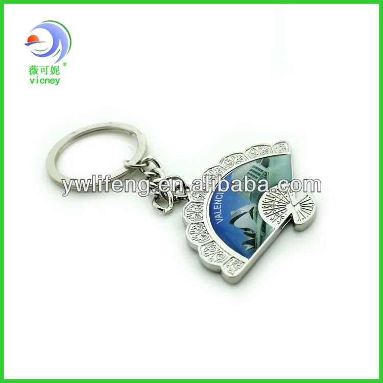 Hot Selling Valencia souvenir promotion key chain