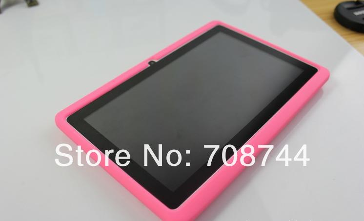 Multi-color Rubber Back Silicone Case for Q88 7inch Tablet PC