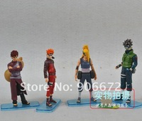 Товары для ручных поделок Marvel GIFT figurine 12cm Japan anime Uzumaki Naruto Battle of top doll TV&MOVIE action figure PVC figures a set of 4
