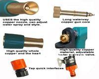 Товары для мытья машины 10m Set Car Wash Kits Copper Connected Household water gun High-pressure water gun head car water gun ship