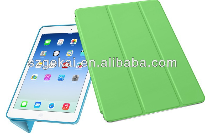 Sex products leather flip unbreakable case for ipad air