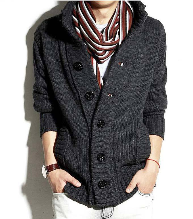 Sale 2015 Men's Sweater Cardigan Shirts Cashmere Sweater for Mens ...