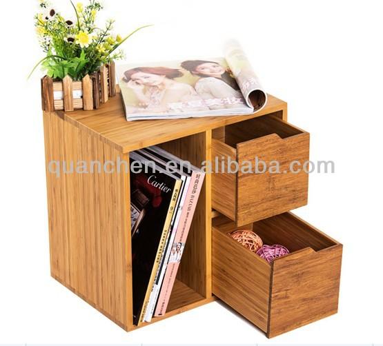 Moderno bambù comodini camera da letto usata per comodino id ...