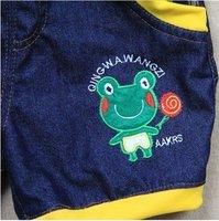 Джинсы для мальчиков baby shorts/baby pants#5094
