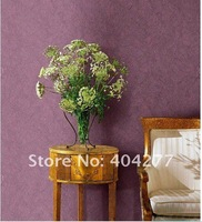 Free shipping,High Quality 118 Single Color Living room Decorative Wallpaper, PVC Background Wall paper(5.3 square meters/set)