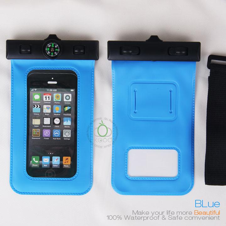 Hot PVC waterproof phone bag,mobile phone PVC waterproof bag for iphone 6
