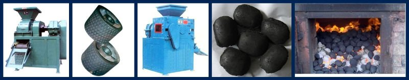 high efficiency coal/charcoal ball briquette machinery/ pillow shape briquette machine(4 rollers)