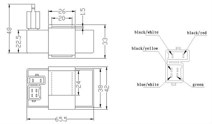 ds007 motorcycle cdi unit zj125 cdi unit buy motorcycle. Black Bedroom Furniture Sets. Home Design Ideas