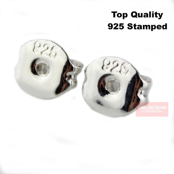 Иглы и Булавки для ювелирных изделий Samandbeads 500 /6x5mm 925 Pin EB12