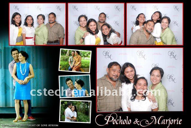 Cool Clap Professional Wedding Photo Booth