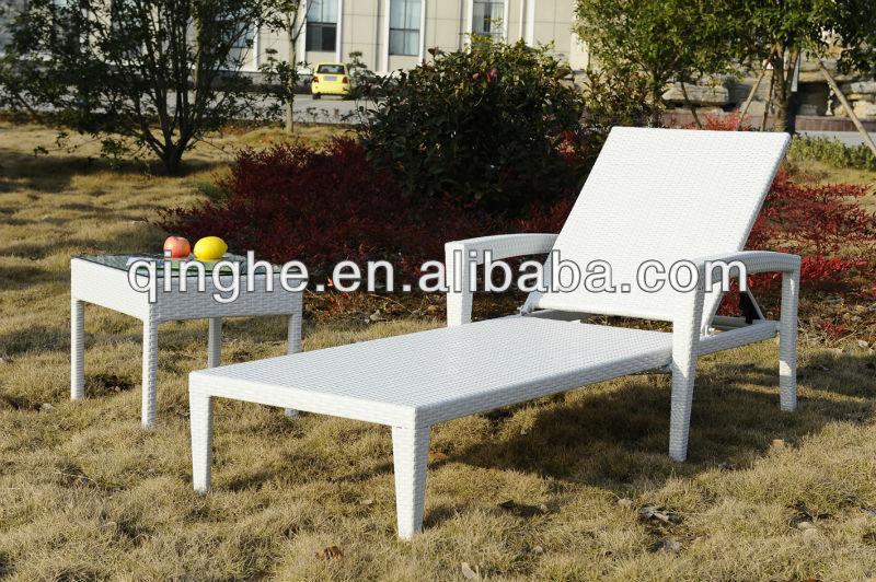 الشاطئ الكراسي في الهواء الطلق القش الأبيض الجملة