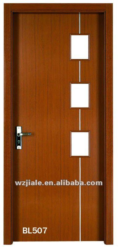 Puertas interiores de madera con vidrio - Puertas para interiores ...