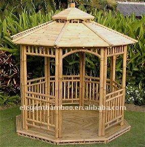 Bamboo gazebo pavilion garden sheds buy outdoor garden gazebo pavilion outdoor pavilion - Outdoor leunstoel castorama ...