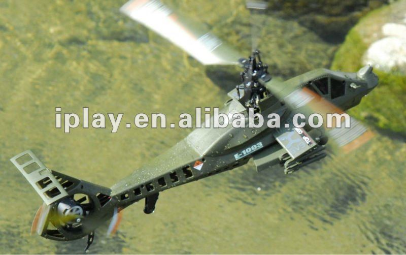 2.4g 4ch single blade rc helicopter. 45cm Comanche RAH-66