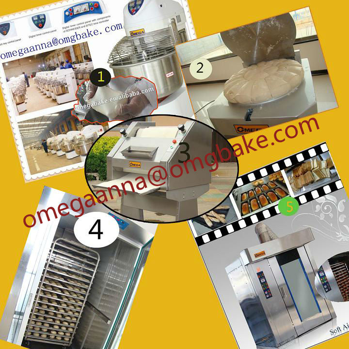 Professional Bread Bakery Equipment Oven/Machine