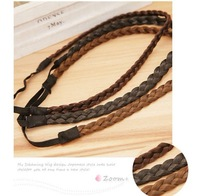 Ювелирное украшение для волос Braiding Faux Hair Wig Elastic Hairbands, Hair Jewelry/Accessories for making different styles