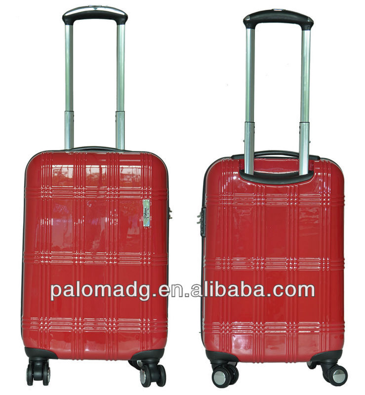 Professional Design trolley luggage, used hard shell wheeled luggage