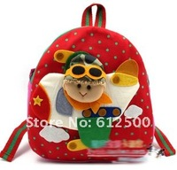 Рюкзак S086, Handmade cloth Baby Cotton backpack, kid's Bag, Cute Cartoon, children's Backpack, School Bag