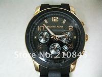 Наручные часы 2012 luxury brand stainless steel Original MK watches for women/men rose gold 2 color wrist watchJanpan Quartz