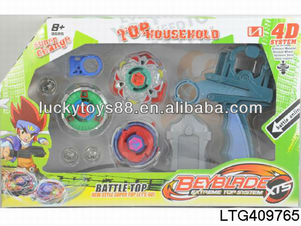 Popular plastic spinning top toys beyblade top plate