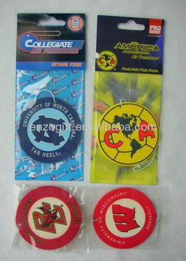 bulk air freshener card pack, paper car freshener for promotion or sale