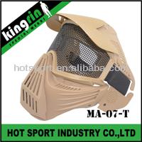 KINGRIN Tactical gear full face glasses paintball mask