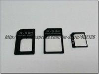 Адаптер для SIM-карты 10pc/lot, YY-1065 3PCS Nano & Micro Sim to Standard Normal Sim Tray Adapter for iPhone 5 5G/4G/4GS, retail package