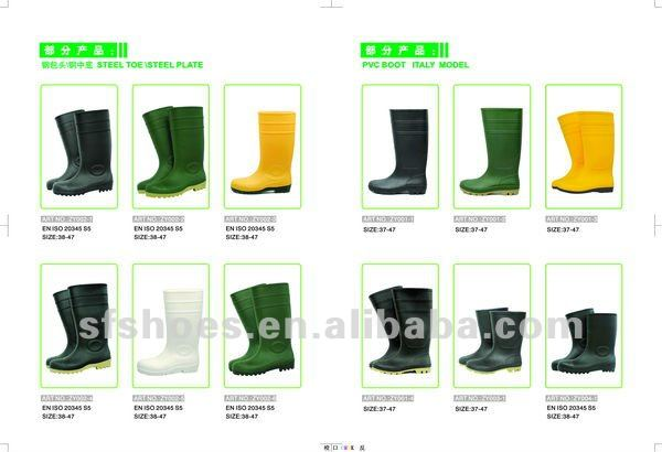 100%waterproof,durable and safety PVC GUMBOOT