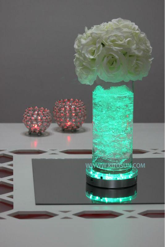 Led Lights For Wedding Decorations : ... -Multi-colors-6inch-LED-Light-Base-for-wedding-centerpiece-lighting-4