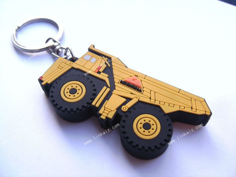 truck promotional key chain