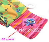 Школьная книга New Toddler Baby Kids Cute Soft Intelligence Sun Cloth Book Toys Early Education