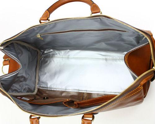 Vegetable tan cowhide leather bags made in Japan SILVER LAKE CLUB | 129301