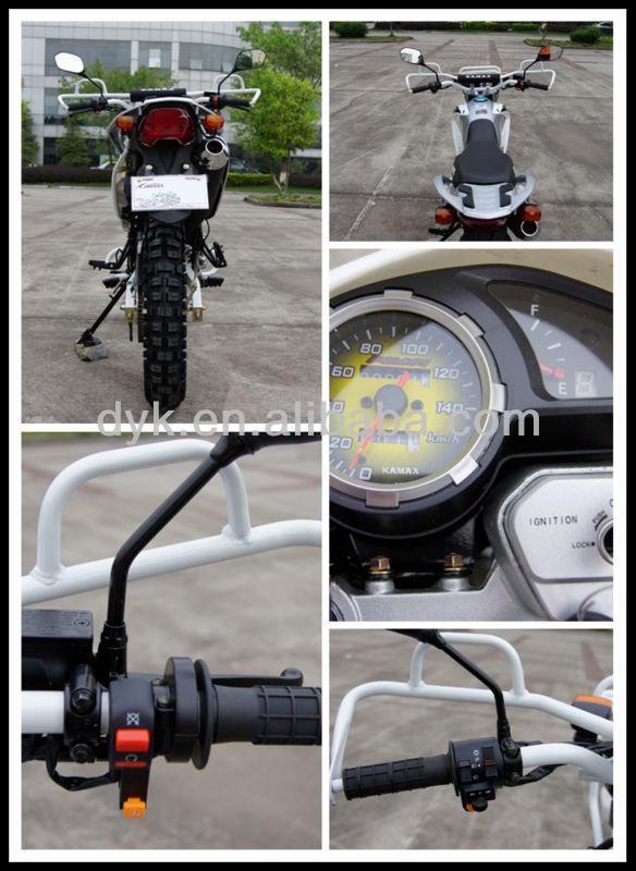 2013 Bross White Disc Brake Policia Dirt Bike