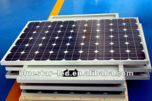 100W 12V Polycrystalline solar panel