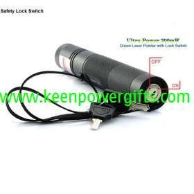 55228-Ultra Power 200mW Green Laser Pointer with Lock Switch-4.jpg