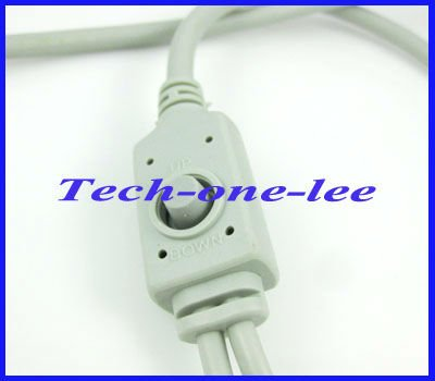Wholesale gray OSD menu control cable line 88cm free shipping