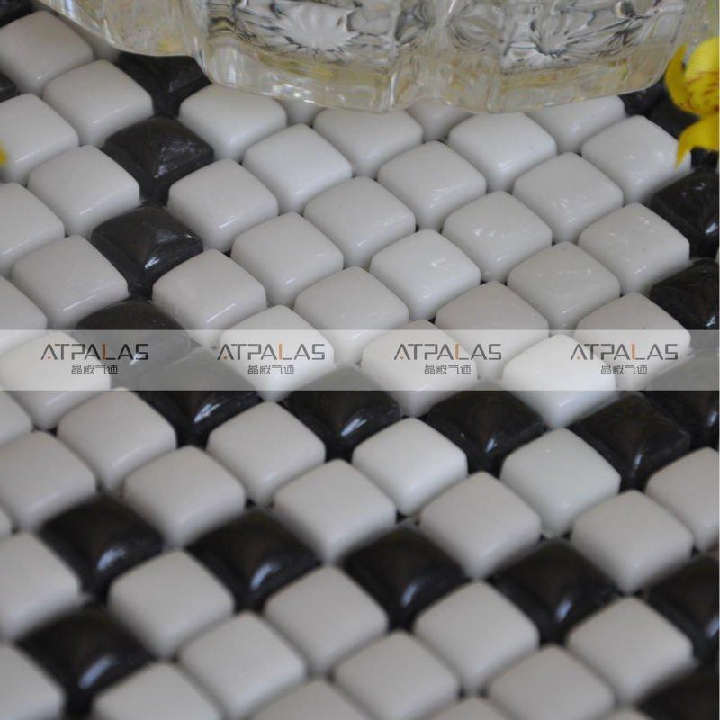 Piastrelle bagno bianco e nero [tibonia.net]