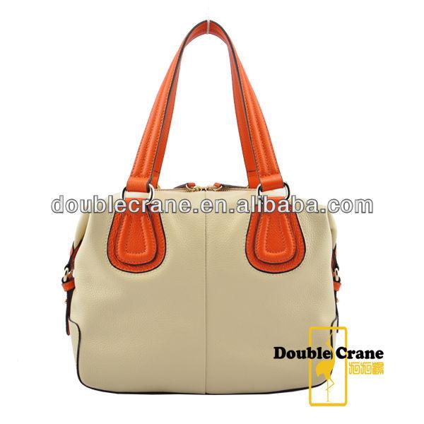 High Grade Top Quality Genunie Leather Handmade Bags China