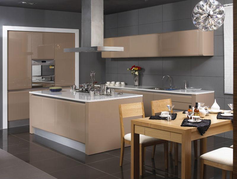 Cuisine beige laque ~ Solutions pour la décoration intérieure de ...