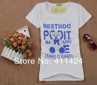 Женская футболка 2013 New Fashion Design Ladies Women Summer Animal Print T Shirt Skirts